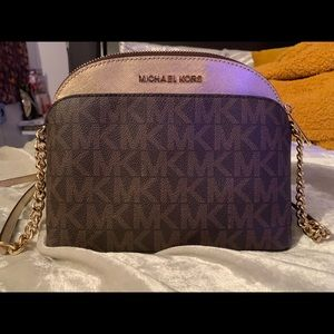 Michael Kors crossbody purse with card holder